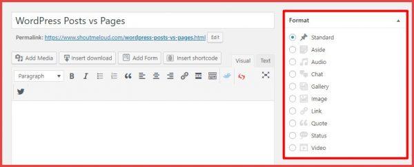berichttypes voor artikelen