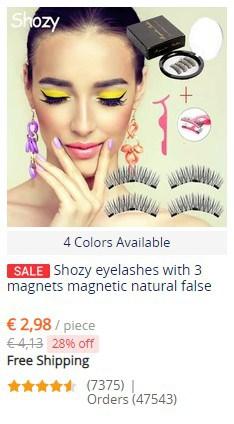 beste aliexpress makeup - wimpers