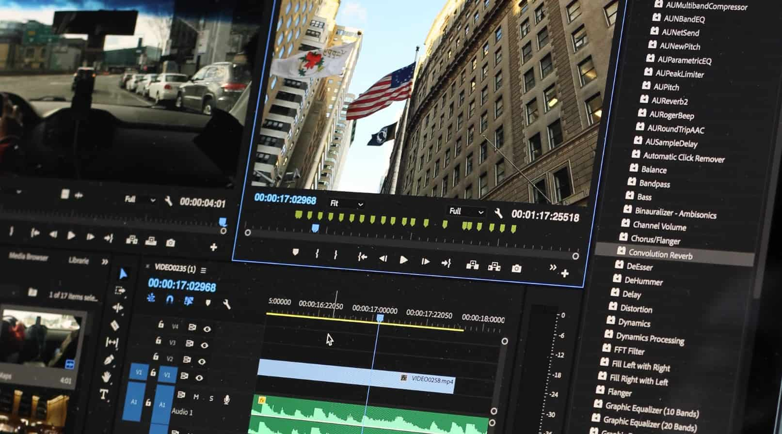 Beste gratis video editor software - title