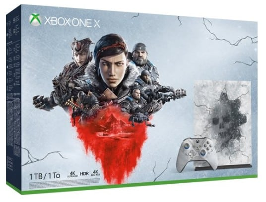 Xbox One X console 1 TB (Limited Edition) + Gears 5