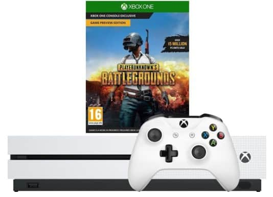 Xbox One S 1TB incl. Playerunknowns Battlegrounds