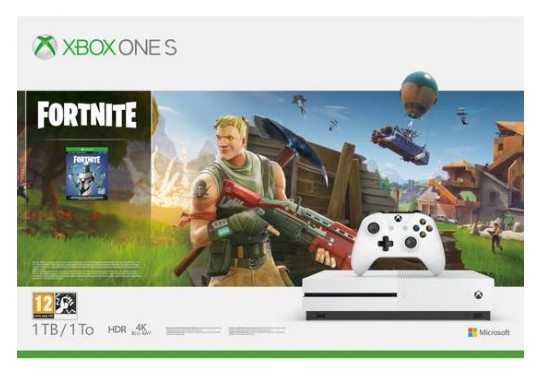 Xbox One S console 1 TB + Fortnite Battle Royale
