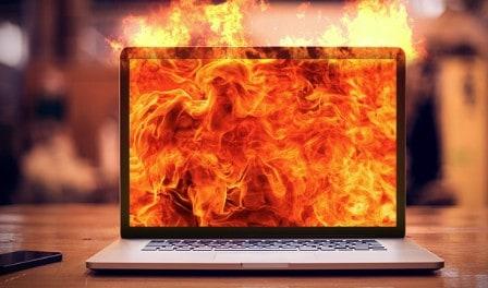 De gevolgen voor je laptop als deze te warm wordt