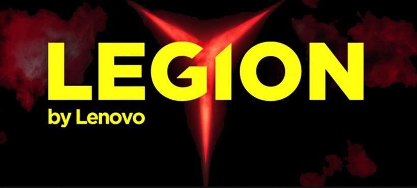 Het logo van Lenovo Legion laptops met RTX 2060 videokaart