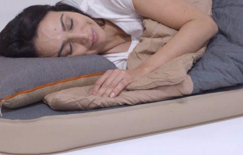 beste matras onder 100 euro, de Quechua Ultim Comfort