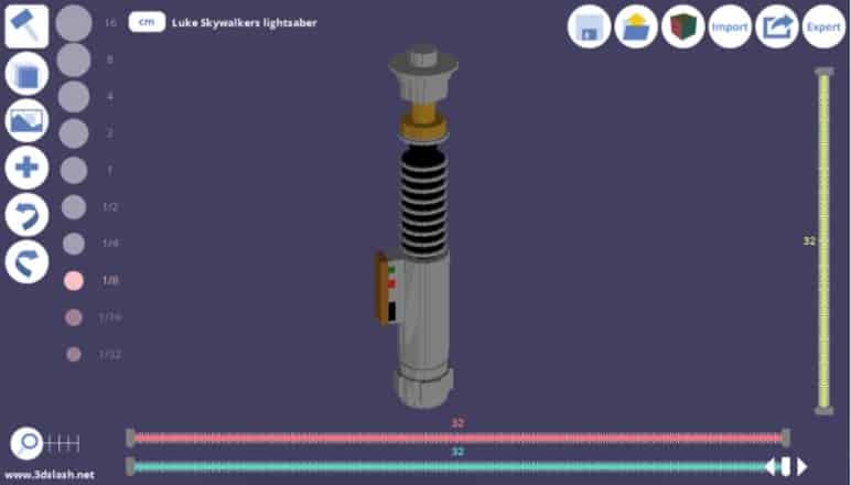 3D Slash - gratis 3d modeleersoftware voor beginners