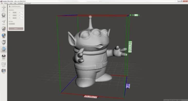 Meshmixer - gratis 3d modeleersoftware voor beginners