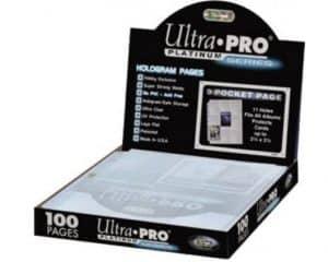 Ultra pro doos met 100 9-pocket insteekhoezen