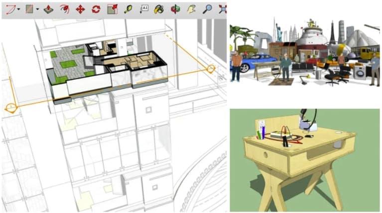 Sketchup Free - gratis 3d modeleersoftware voor beginners