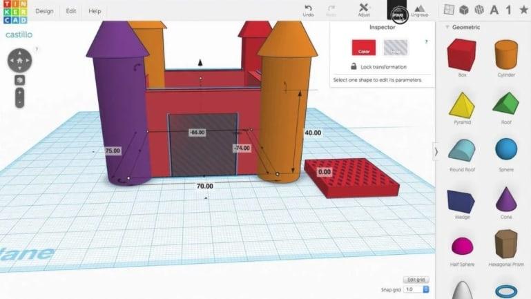 TinkerCad - gratis 3d modeleersoftware voor beginners