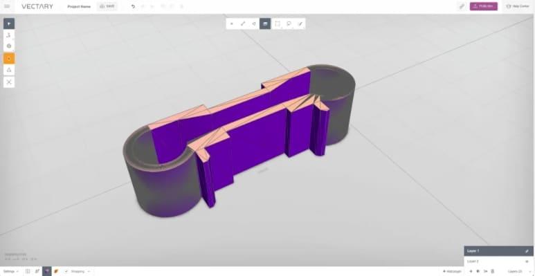 vectary - gratis 3d modeleersoftware voor beginners