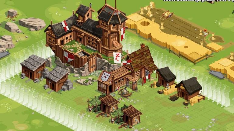 afbeelding in-game van GG Empires op Google chrome